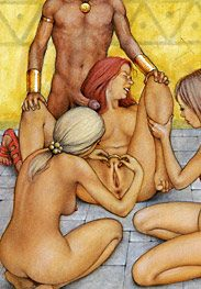 Slaves of troy - I can't wait to sink all of my thick cock into you tight pink puss by Tim Richards