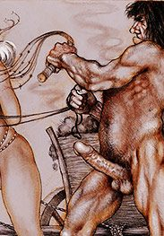 Whip that blonde's tits, Abner - Sold as slaves by Tim Richards