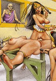 Slaves of troy - Maybe your pathetic tears can lube next time by Tim Richards