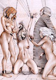 Sex captives of terror prison - Drink all the gentleman's spunk by Tim Richards