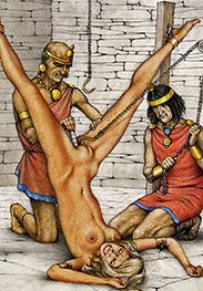 His cock-meat into your whoring cunt - Slaves of Troy by Tim Richards