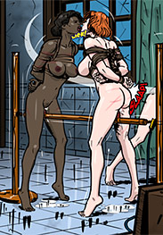 Predondo fansadox 501 Prison horror story part 9 - The sadism of his assistant Dorothy