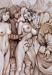 Sold as slaves - Shove her mouth round my cock by Tim Richards
