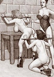 Feeding time - I want this blonde slut real hot for my pussy by Badia