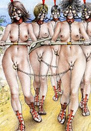 Sex captives of terror prison - Trainig time, slave by Tim Richards