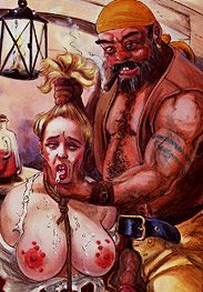 Pirates - You're just in time to sample this whore's mouth by Mr.Kane