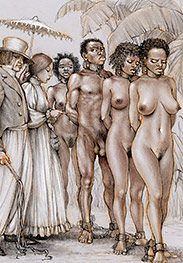 Slave master looking in - Southern comfort by Tim Richards