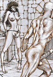 Sex captives of terror prison by Tim Richards