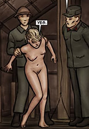 Slasher fansadox 535 Vietnam story - She'll learn the hard way not to curse at her Viet Cong captors and put that mouth to better use