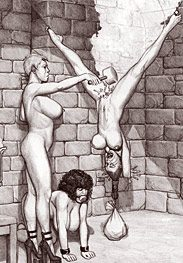 Sex trained upside down - So that I can fuck your mouth by Badia