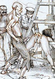 Choke on my meat like a starving dog - Sex captives of terror prison by Tim Richards