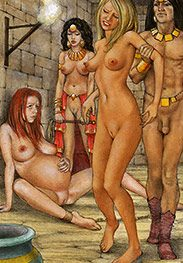 This one will make a pretty decoration on a crucifix - Slaves of Troy by Tim Richards