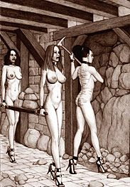 Slaves of Rome - It was a pity that the virgins cunts by Badia