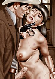 Gangster's flesh - Oh, and stick a big fat vibrator up her pussy by De Haro