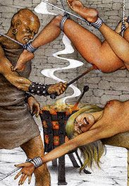 I can get a tight hole - Slaves of Troy by Tim Richards