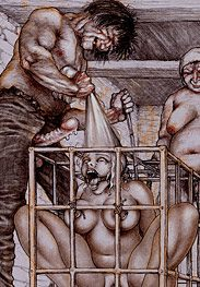 Sold as slaves - I'm gonna pull this throat-latchet until you choke by Tim Richards