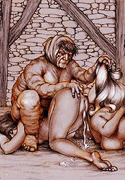 Lick it out good and well - Sold as slaves by Tim Richards