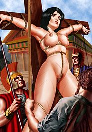 Ancient rome - A big blonde like that is better than any medicine by De Haro