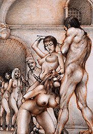 Deep-throat training under the lash - Sex captives of terror prison by Tim Richards