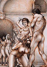 Deep-throat training under the lash - Sex captives of terror prison by Tim Richards