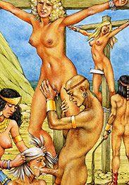 All the way to the balls, whore - Slaves of Troy by Tim Richards